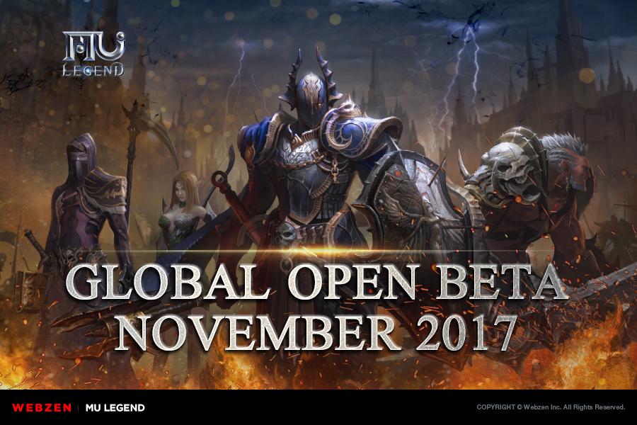Global OBT of MU Legend to Happen the 07 of November