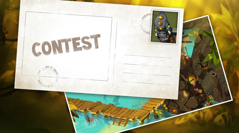 DOFUS Touch: Design A Postcard For Vulkania Island