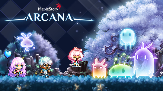 MapleStory Added New Region To Arcane River - Arcana
