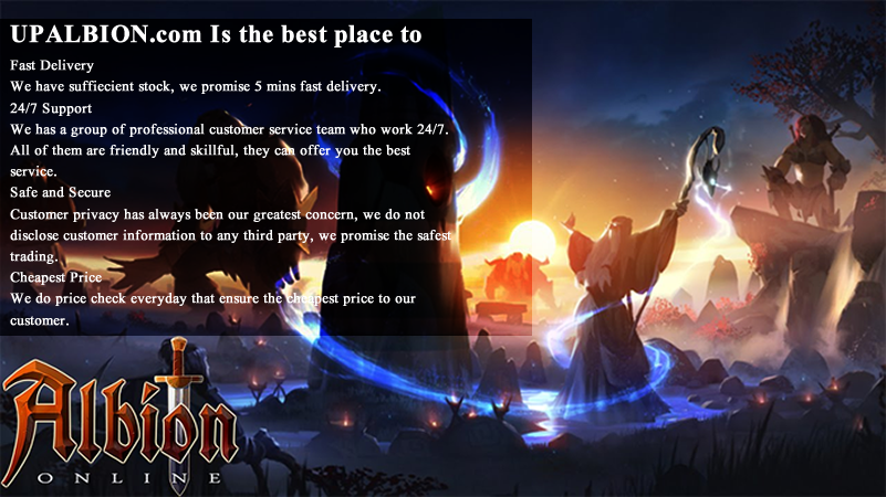 Stock Cheap Albion Online Gold Fast For You To Experience Updates