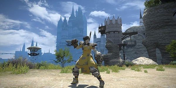 FFXIV Added A New 24-Player Raid: The Royal City of Rabanastre