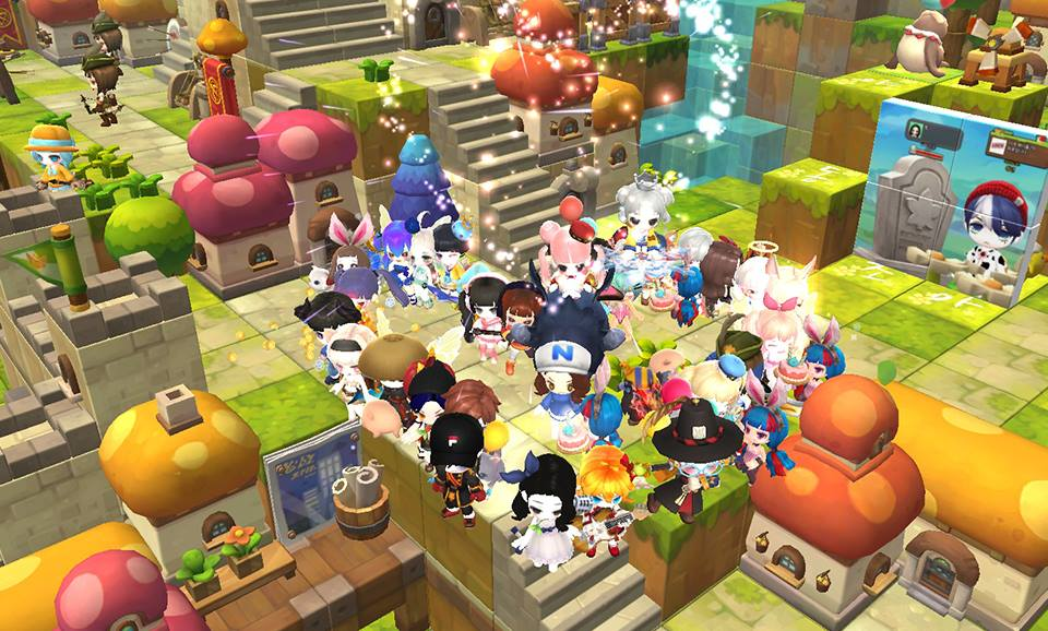 Tencent Has Opened MapleStory 2 This Year