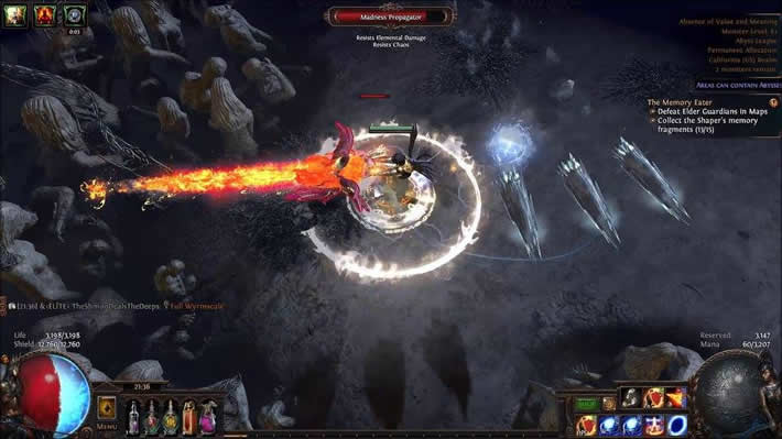 PoE Elder Fight