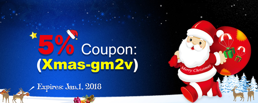 Xmas - Up to 20% Bonus and 5% Coupon