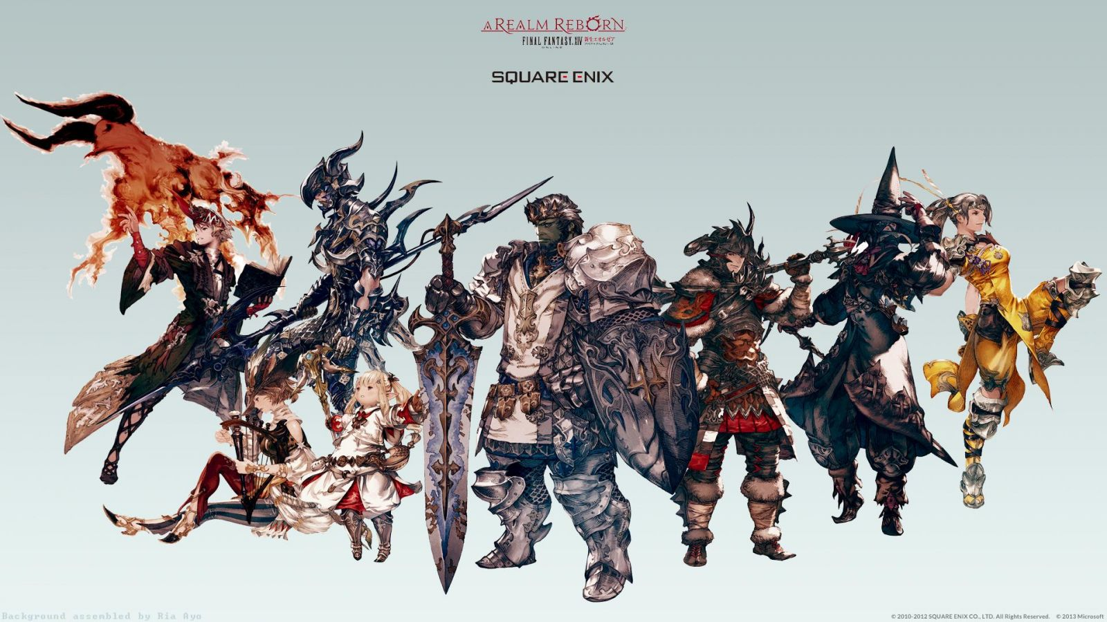 FFXIV: The Armoury System & Classes And Jobs - ffxiv4gil com