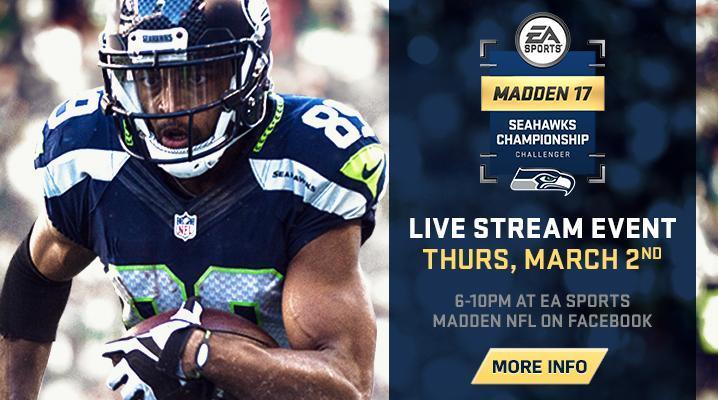 Madden 17 Seahawks Championship Details: Schedule & Ticket