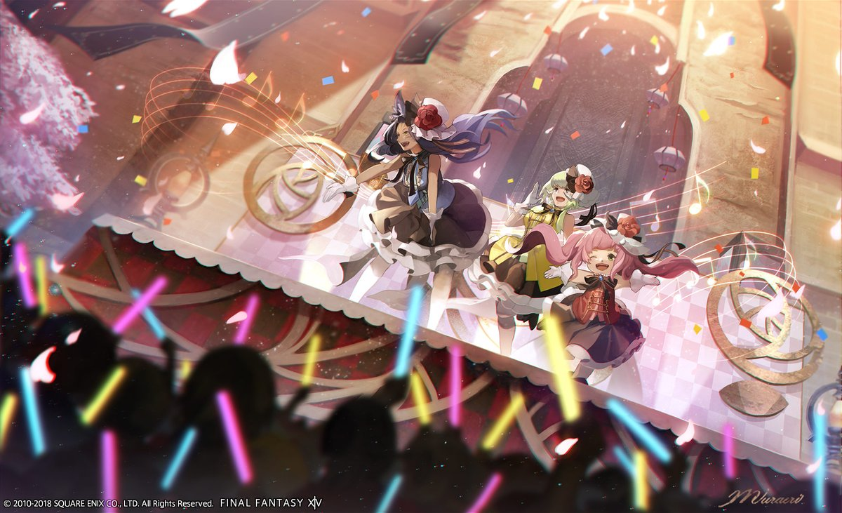 Final Fantasy XIV - Join The Little Ladies' Party
