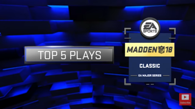 Madden 18 Video Shows Madden Classic Top 5 Plays