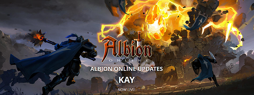 albion online the update kay and trailer are online
