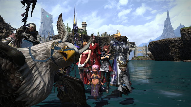 FFXIV static group
