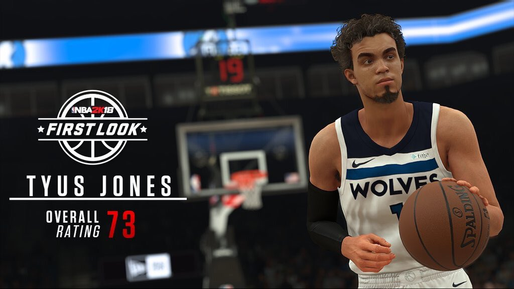 NBA 2K18 First Look And Player Rating - Round 3 - u4nba.com