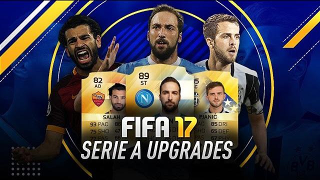 FIFA 17 Serie A upgrades