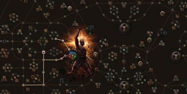 Major Features Of The Path Of Exile Passive Skill Tree
