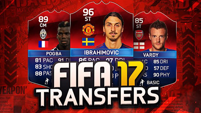 FIFA 17 Winter Transfers: Potential January Transfers