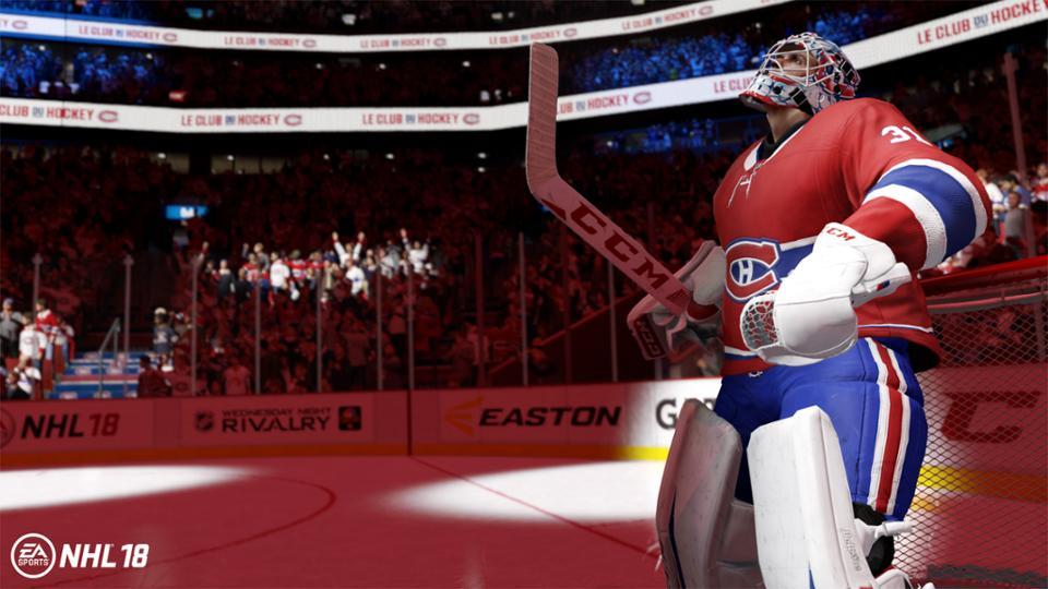 Carey Price rated best goaltender in NHL 18