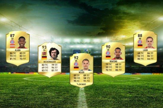 fifa 17 Squad