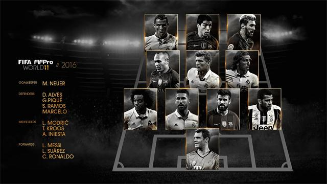 FIFA 17 TOTY