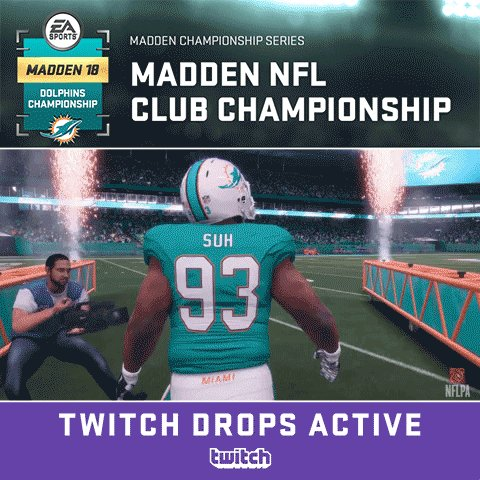 Madden 2018 Miami Dolphins Club Championship