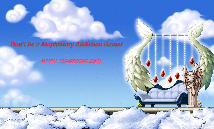 Don't be a MapleStory Addiction Gamer