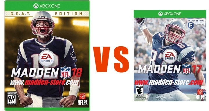 What Is New Between Madden 17 and Madden 18