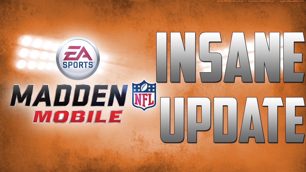 Madden Mobile New Cup On The AH