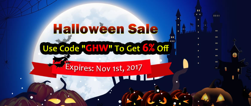 GM2V Halloween Sale