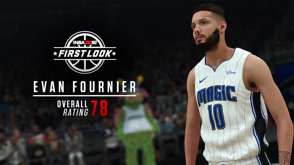 NBA 2K18 First Look And Player Rating - Round 3