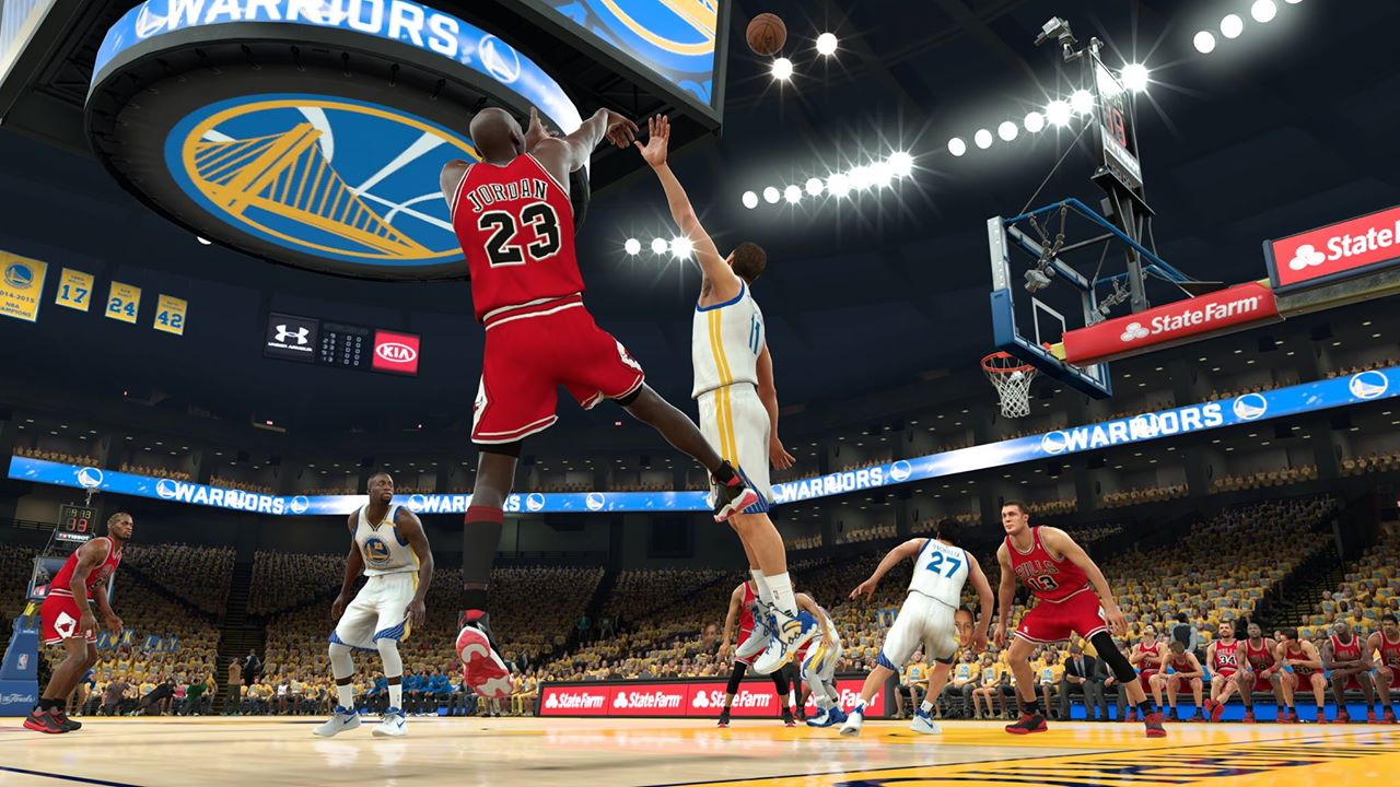 NBA 2K17 Video Shows MyCareer In E3 2017