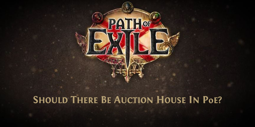 Auction House in PoE