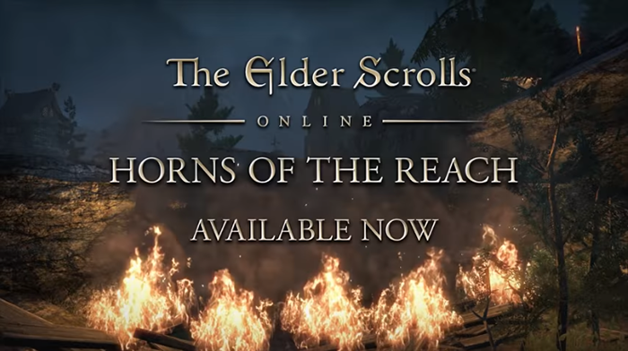 The Elder Scrolls Online: Horns Of The Reach Available For Consoles