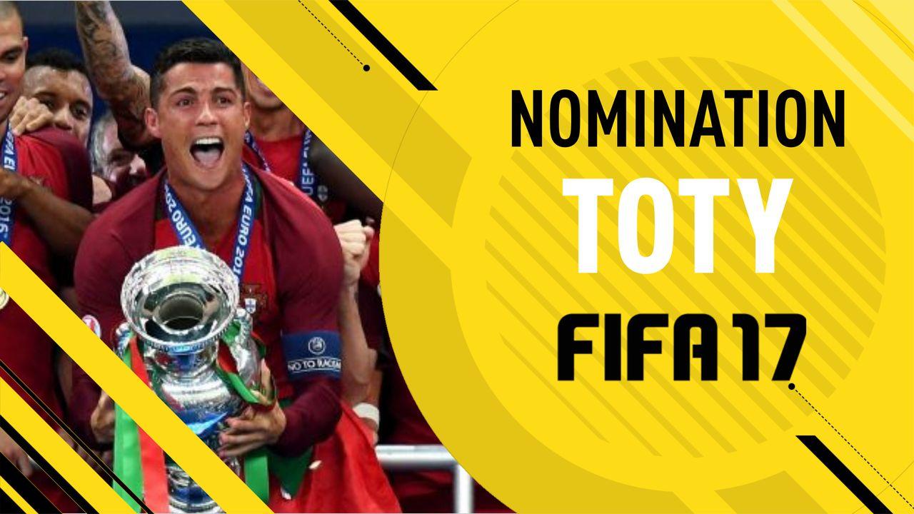 FIFA 17 TOTY Nominees