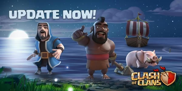 Clash Of Clans Update Brought Along An All New Game Mode
