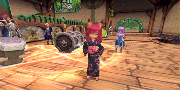 Players Can Freely Change Their Character Classes In Twin Saga