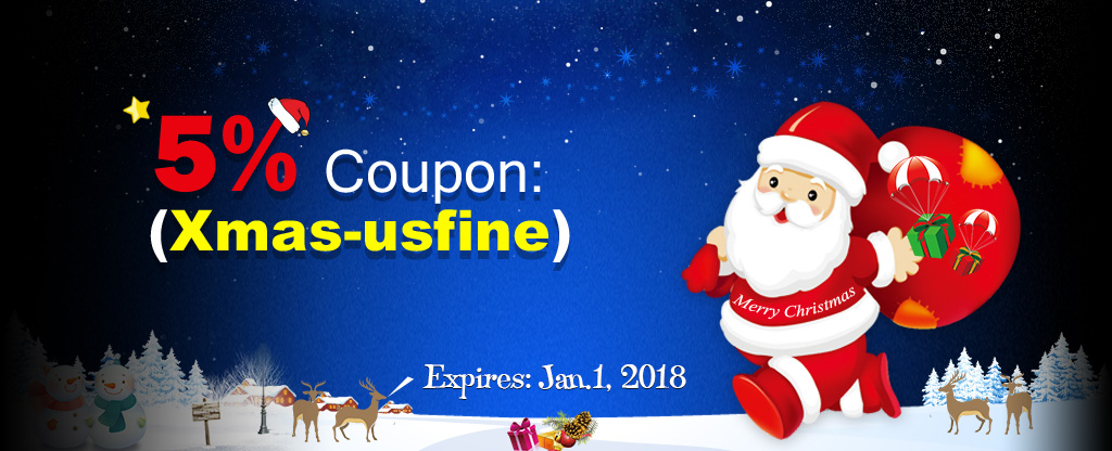 Merry Christmas - 5% Coupon Only for u at Ffxiv4gil.com