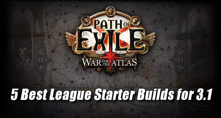 War For The Atlas Builds
