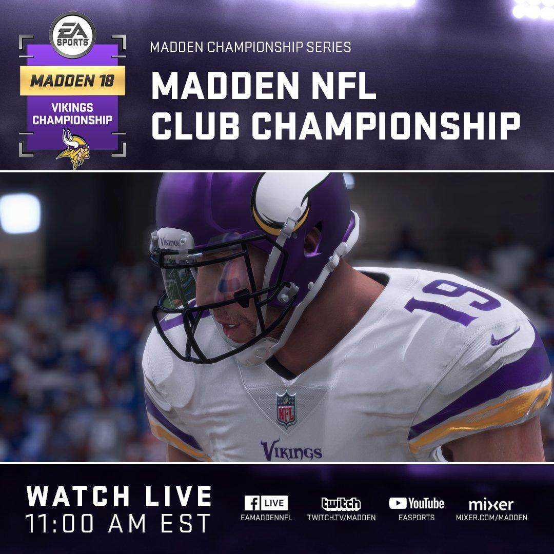 Madden 2018 Club Championship - Minnesota Vikings