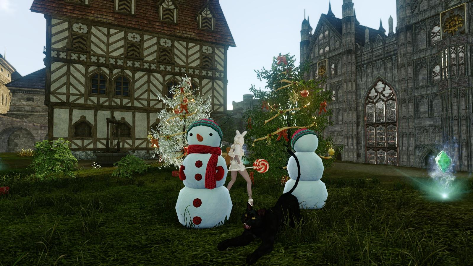 ArcheAge Winter Maiden Festival
