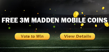 Vote to Win Free Madden 18 Coins in Madden-Store.com