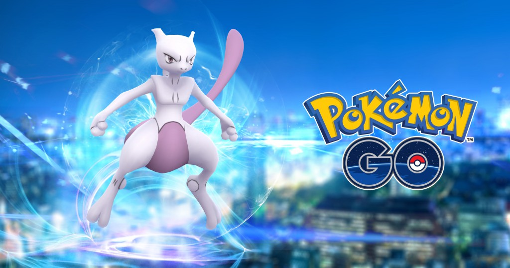 Pokemon Go - Mewtwo Appears In Raid Battles