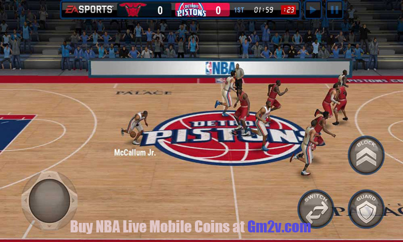 nba live mobile basketball gameplay
