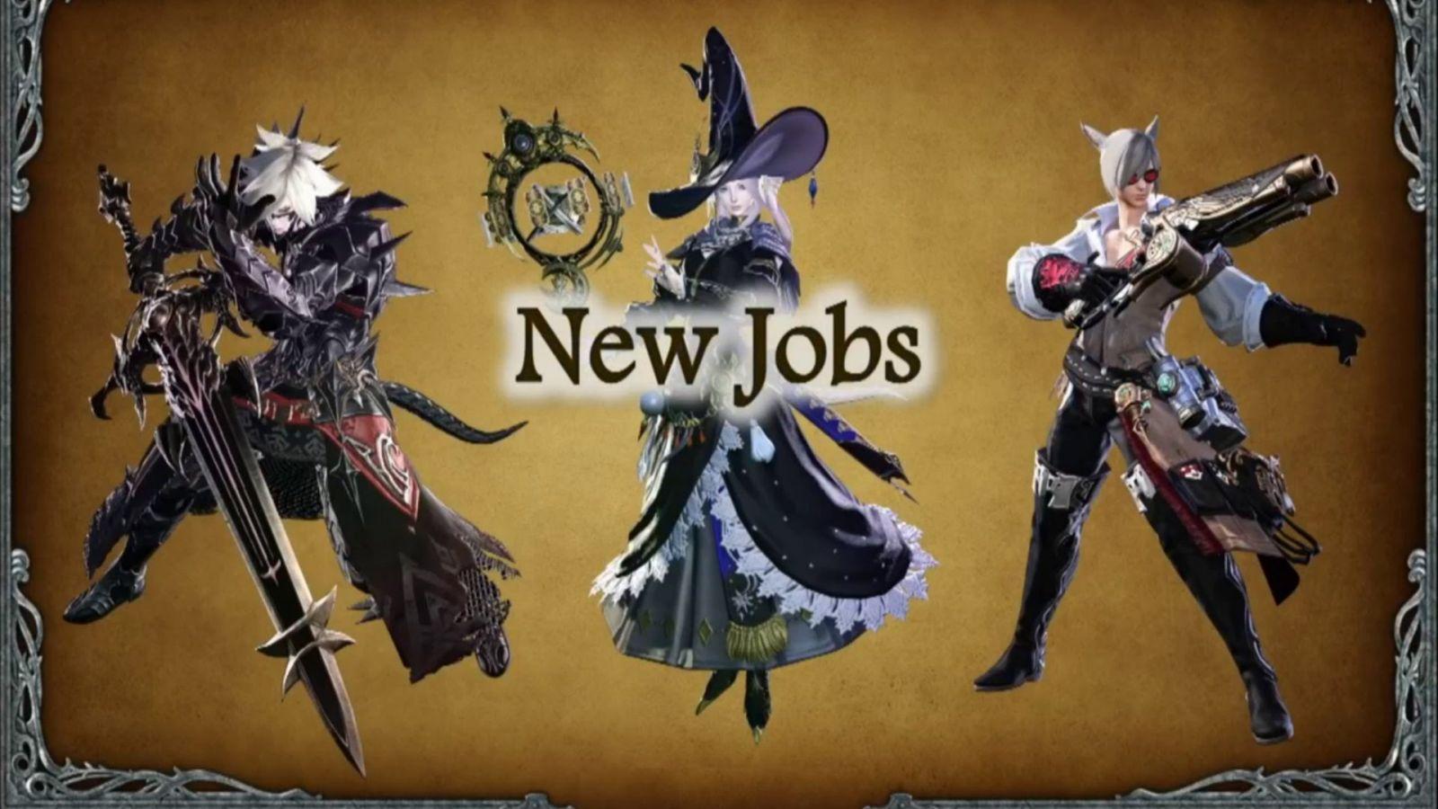 FFXIV Heavensward Jobs