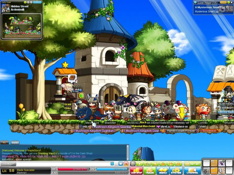 Effecient Ways to Grind MapleStory Professions Level