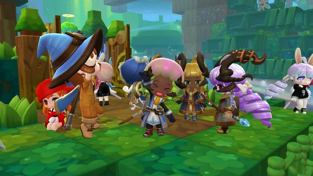 Impressive Role-Playing In MapleStory 2 Action Game
