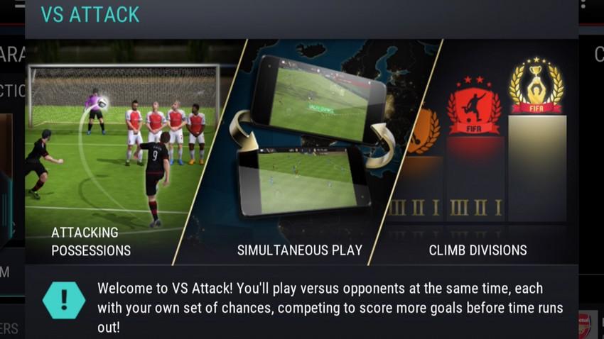 FIFA Mobile's VS Attack