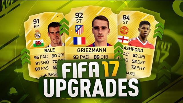 FIFA 17 upgrades