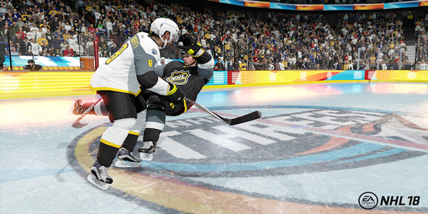 NHL 18's One Of The New Modes And Its Arcade Elements