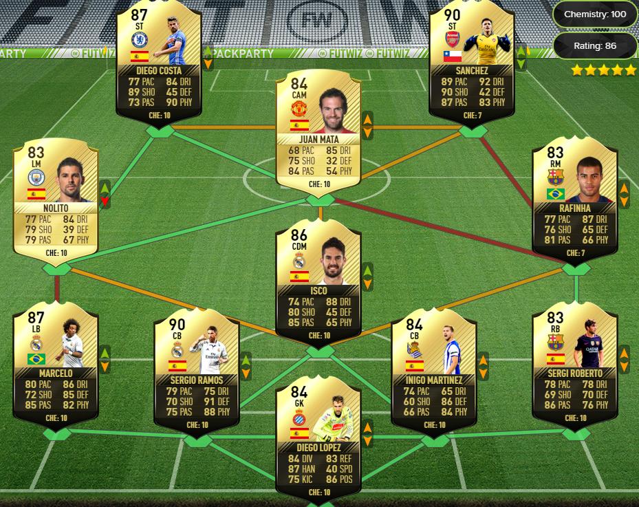 FIFA 17 POTM Challenge 4