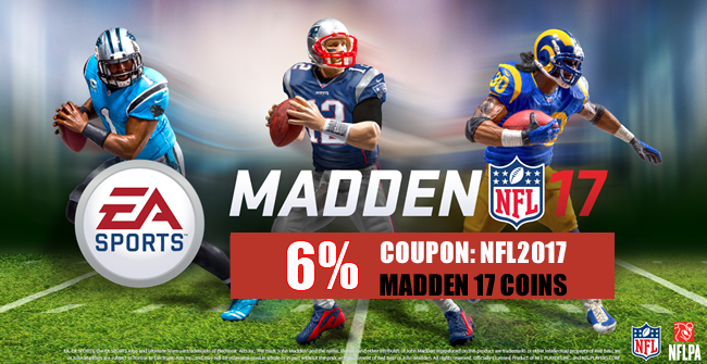 Buy Madden 17 Coins with Cheap Coupon Code