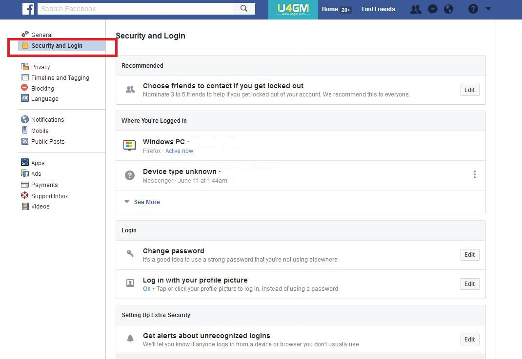 How to make Code Generator & two-factor authentication on Facebook