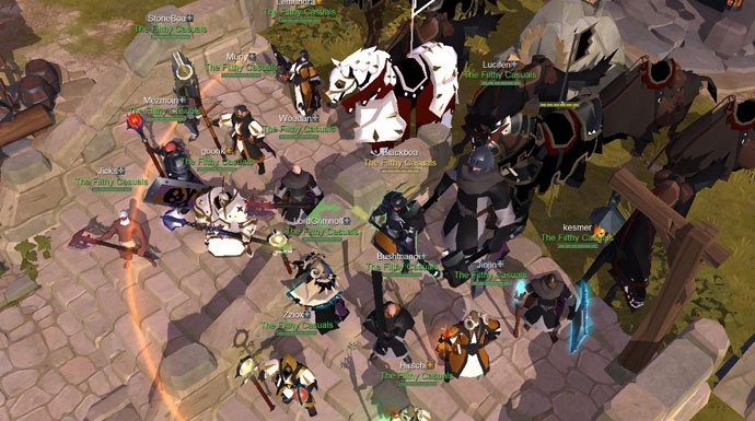 Albion Online Solo PvP: The Double Bladed Staff Assassin
